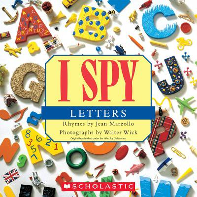 I Spy Letters (Paperback) - Halloween I Spy Printables