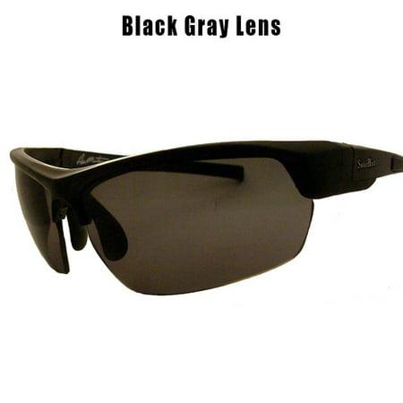 24ac8d50d9 Aaron Martens 153 Black Gray Lens - Walmart.com