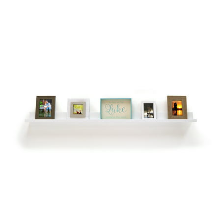 """60"""" x 5"""" Picture Ledge White - InPlace"""