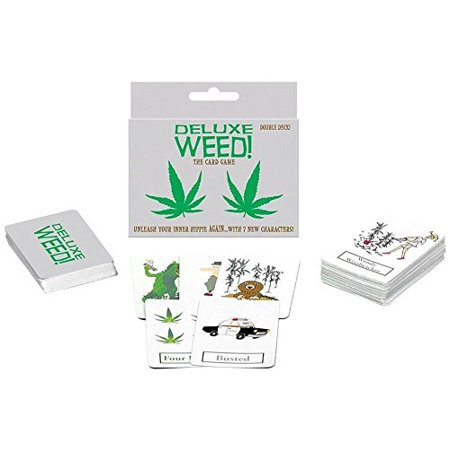 Deluxe Weed Card Game - Double Deck - image 1 of 1