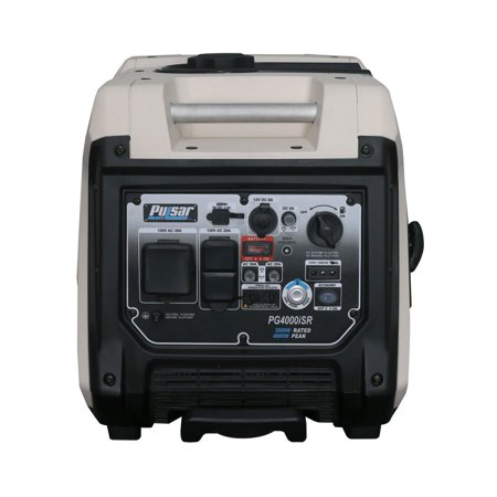 Pulsar PG4000ISR 4000W Portable 224cc Engine Inverter Generator w/ Remote (Best Wave Inverter With Remotes)