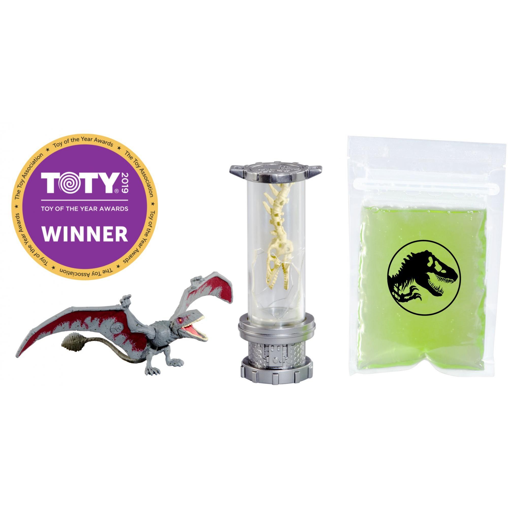 Jurassic World Slime Dino DNA Lab Kit with Dimorphodon Dinosaur