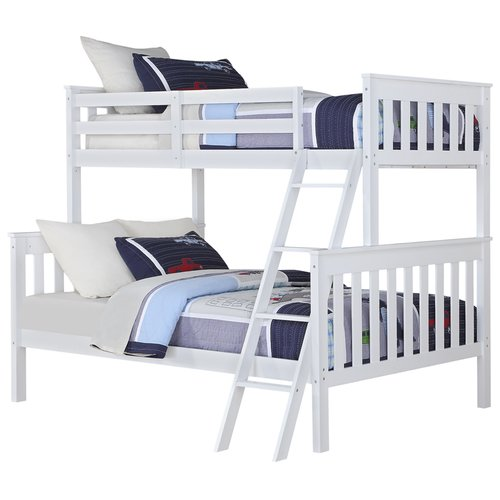 Angel Line Brandon Twin Over Full Bunk Bed