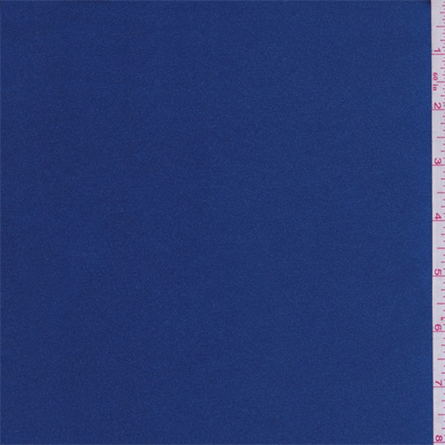 Sapphire Blue Satin, Fabric By the Yard