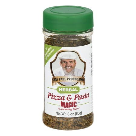 (2 Pack) Magic Seasoning Blend Chef Paul Prudhomme Herbal Pizza & Pasta Seasoning, 3.0 OZ