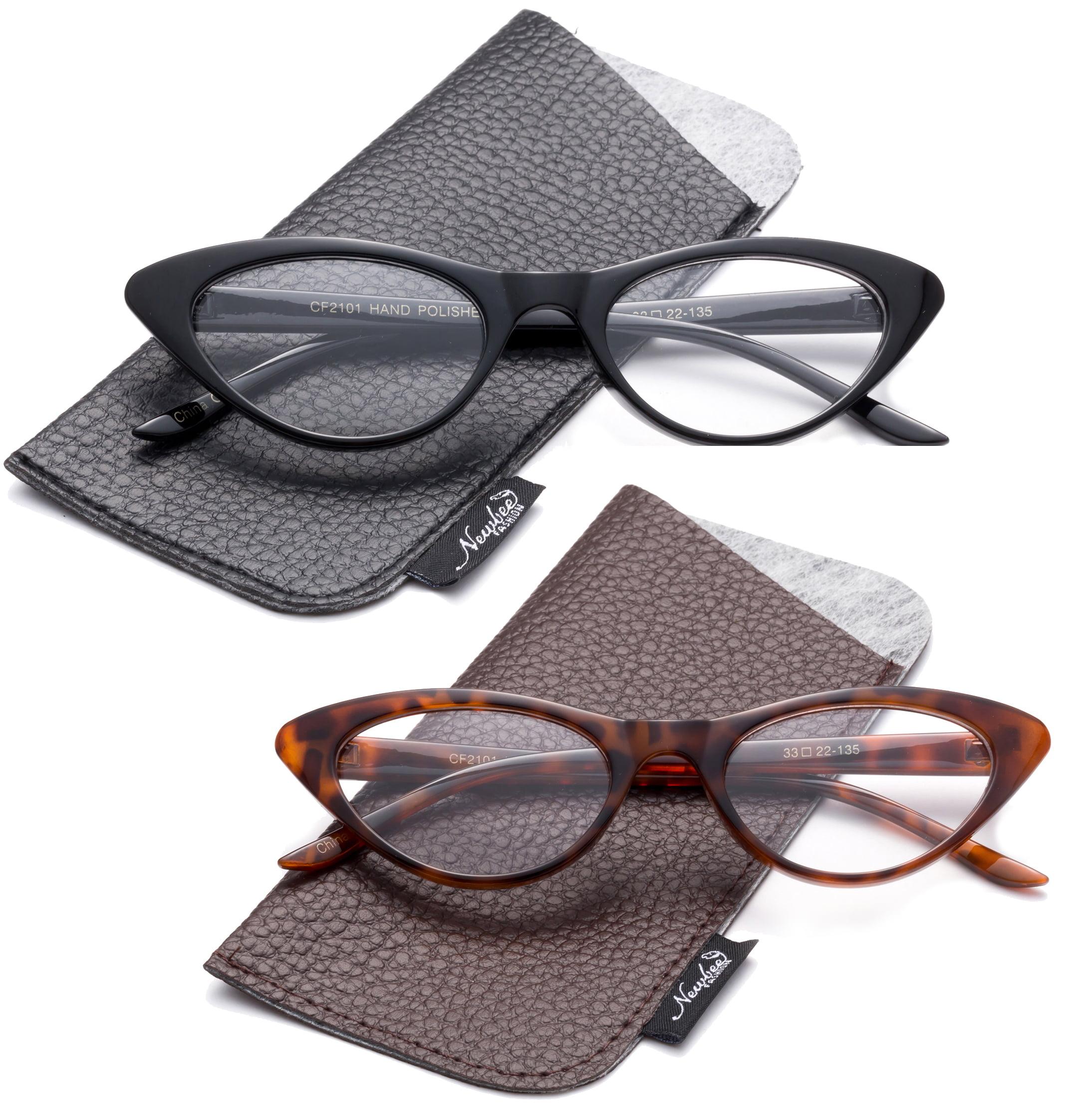 Designer Women Fashion Reading Glasses Cateye Round Vintage Retro Reading Glasses Cat Eyes for Women