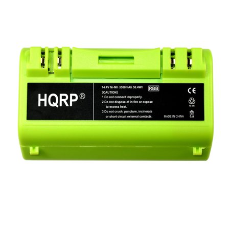 - HQRP 3500mAh Extended Battery for Scooba 330 / 350 / 380 / 390 / 590 / 5806 / 5910 / 5920 / 5940 / 5950 / 34001 Series APS 14904 Replacement plus HQRP Coaster