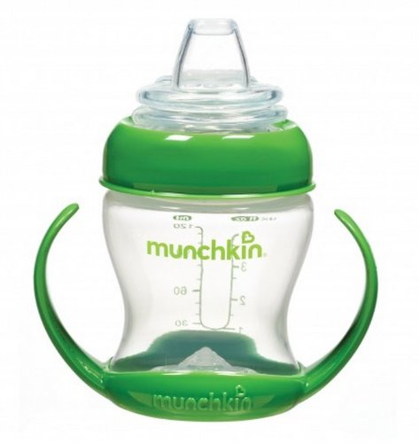 Munchkin Flexi-Transition 4 Ounce Cup - 1 Pack/Green