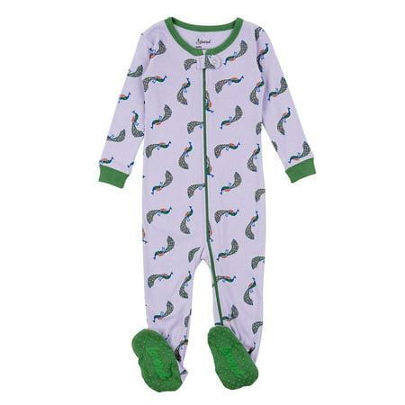 73eb77e93 Leveret Kids Pajamas Baby Boys Girls Footed Pajamas Sleeper 100 ...