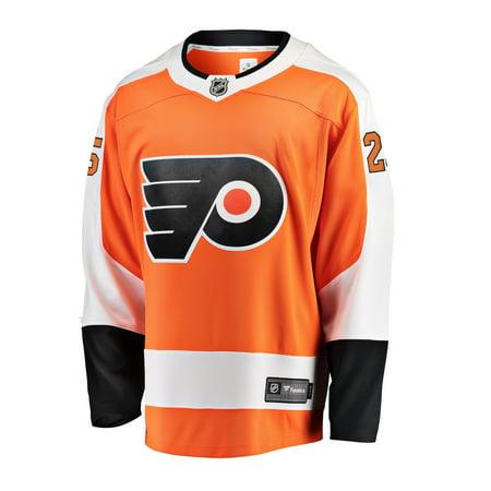 size 40 b13e7 cceec James van Riemsdyk Philadelphia Flyers NHL Fanatics Breakaway Home Jersey