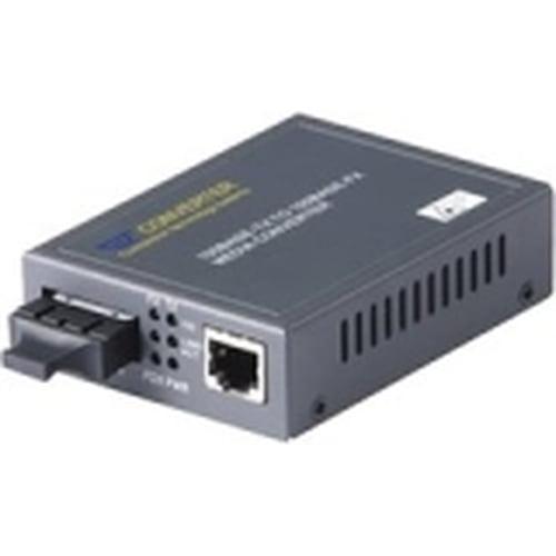 RF-Link AGC-H21SC RF-Link RJ45, 10/100 Base-TX to Fiber-SC 100 Base-FX Multi Mode Converter - 1 x Network (RJ-45) - 1 x SC Ports - 100Base-FX, 10/100Base-TX - Desktop