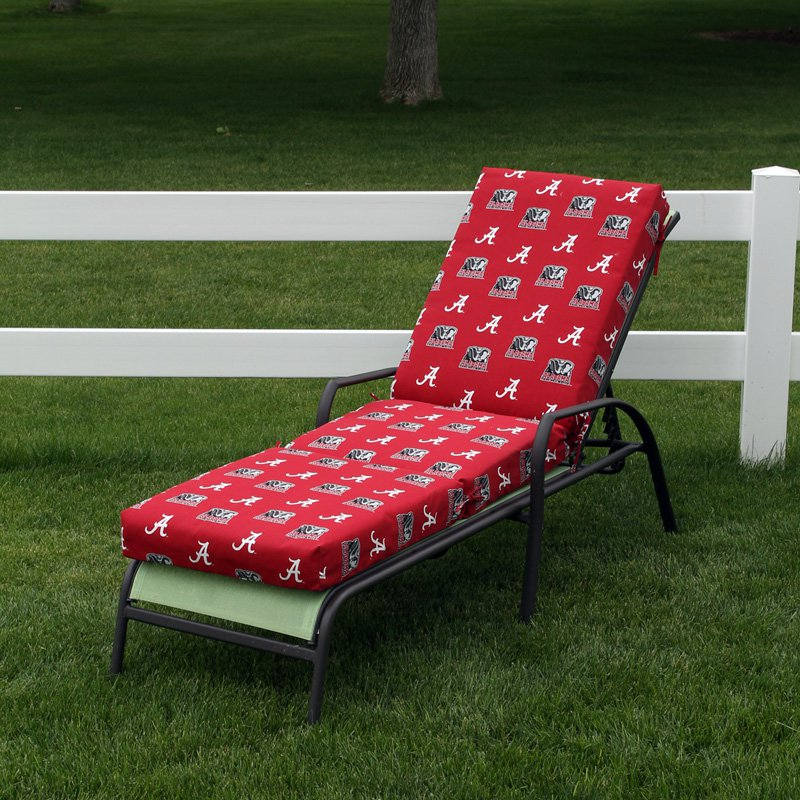 College Covers 72 x 20 in. Chaise Lounge Cushion