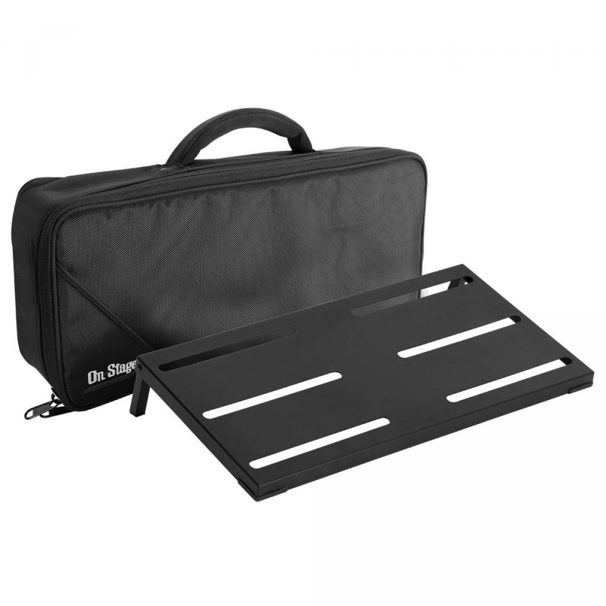on stage gpb4000 guitar keyboard pedal board. Black Bedroom Furniture Sets. Home Design Ideas