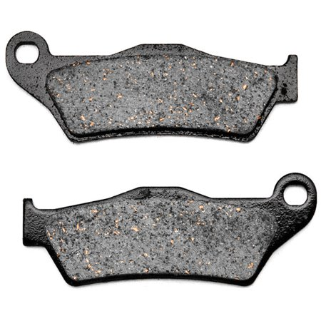 KMG Front Brake Pads for 2004-2008 TM MX 85 JR (2T) - Non-Metallic Organic NAO Brake Pads Set