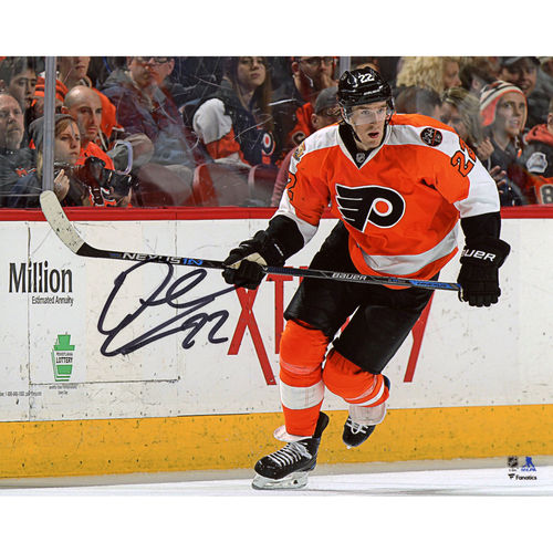 "Dale Weise Philadelphia Flyers Autographed 8"" x 10"" Orange Jersey Skating Photograph No Size by Fanatics Authentic"