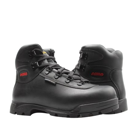 Asolo Sunrise Waterproof Black Leather Men's Boots AS-403M Asolo Leather Hiking Boots
