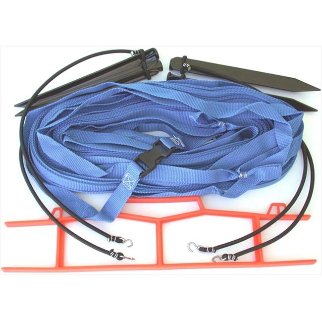 Home Court M8W25BUS 8 Meter Blue 1-inch Non-adjustable Web Courtlines