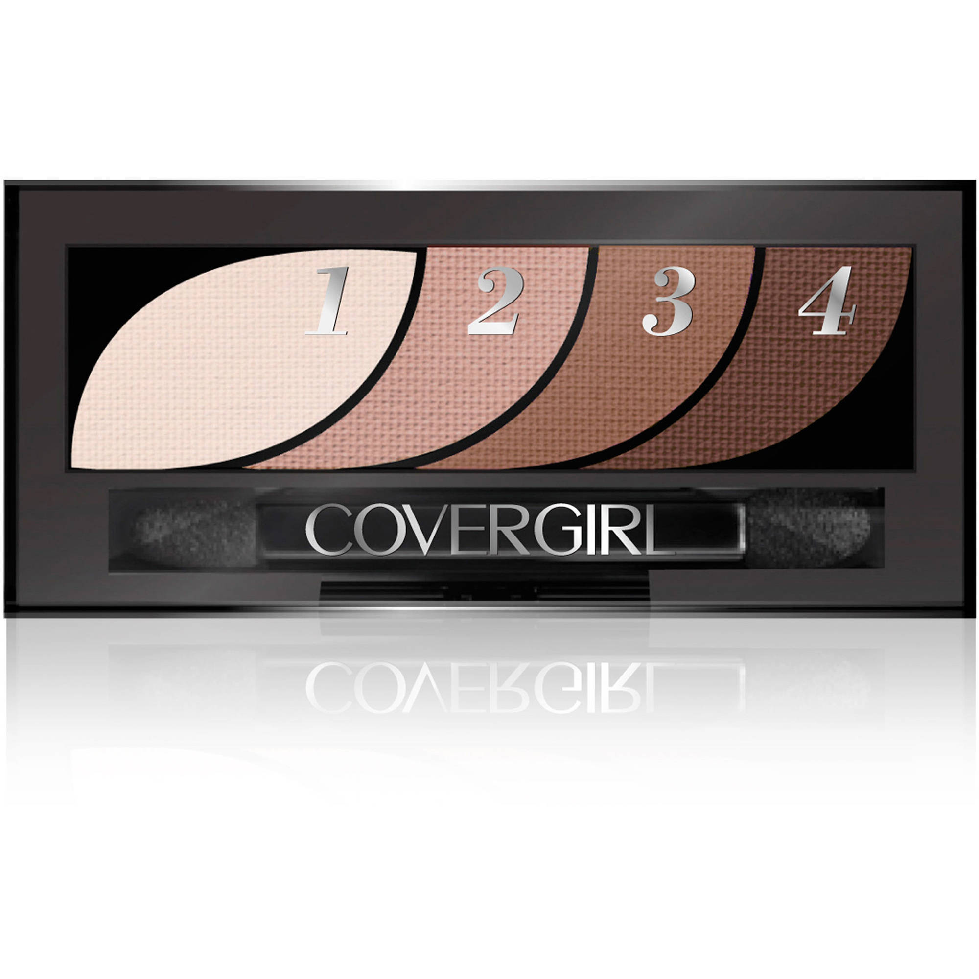 COVERGIRL Eye Shadow Quads, Notice Me Nudes, 0.06 oz