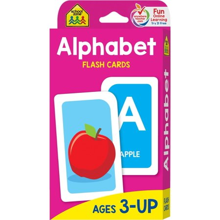 Alphabet Flash Cards (Ages 3 and Up)