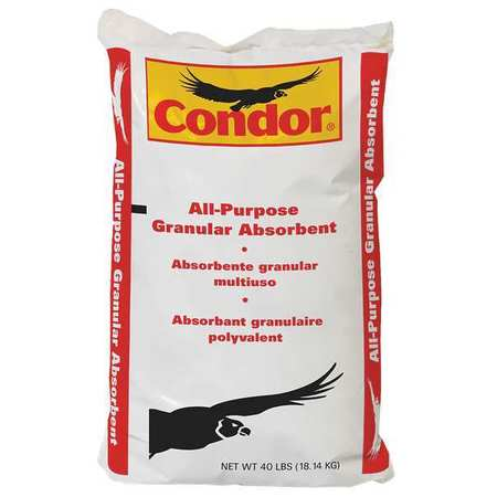 Condor 35UX86 40 lb. Loose Absorbent, Bag