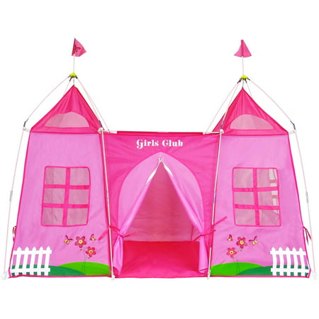 GigaTent Girls Club Pink Play Tent - Girl Teepee