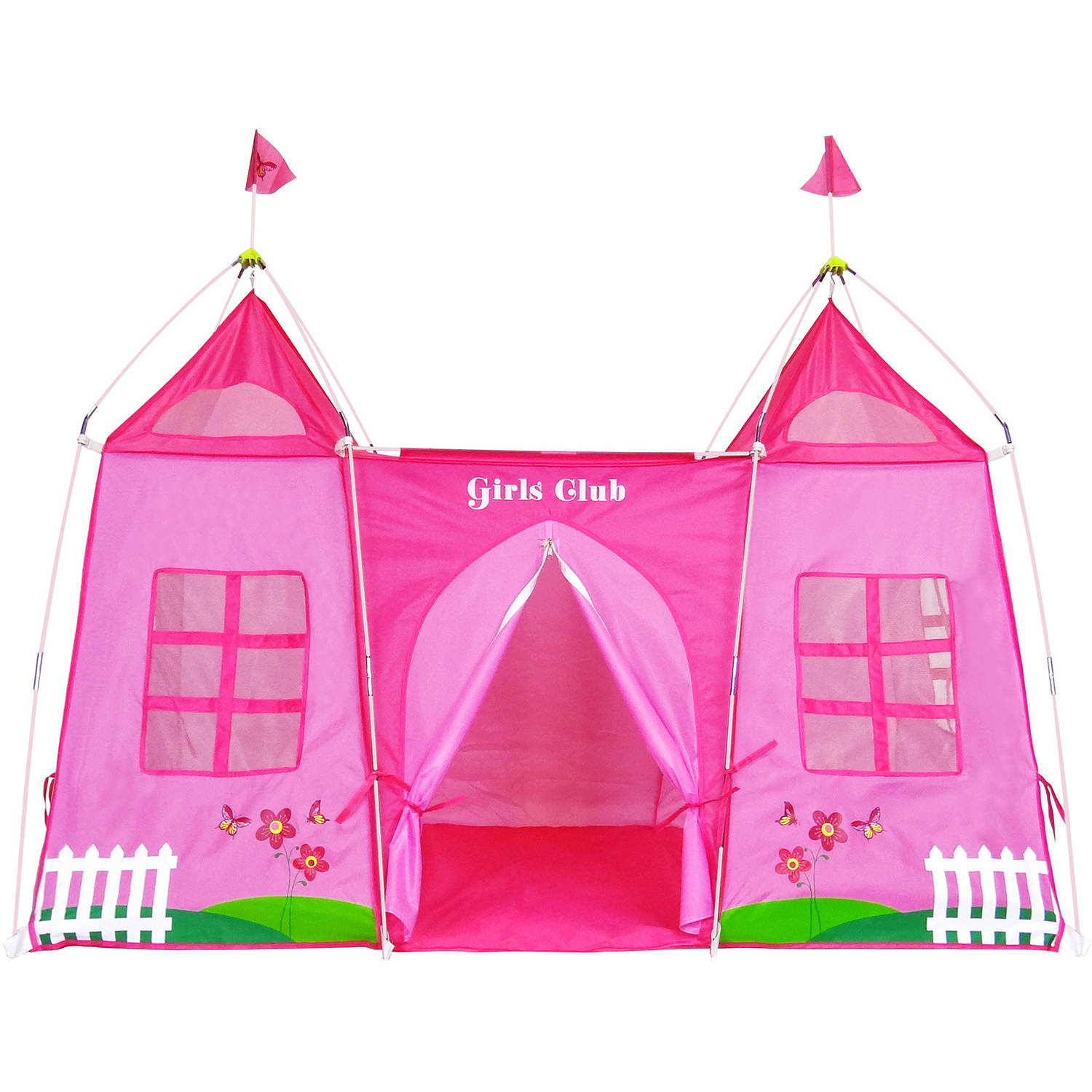 GigaTent Girls Club Pink Play Tent  sc 1 st  Walmart & GigaTent Girls Club Pink Play Tent - Walmart.com