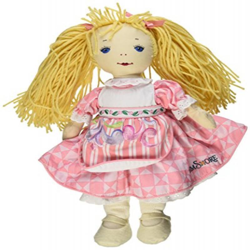 KatJan Best Pals Janet Doll in Pink Dress by Designer Jim...