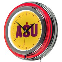 "NCAA 14"" Neon Wall Clock (All Teams)"