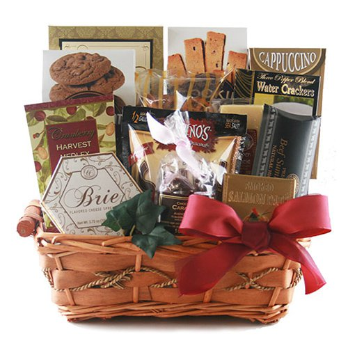Tasteful Greetings Gift Basket