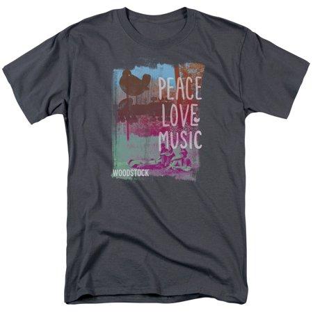 Woodstock Plm Mens Short Sleeve Shirt](Woodstock Halloween)