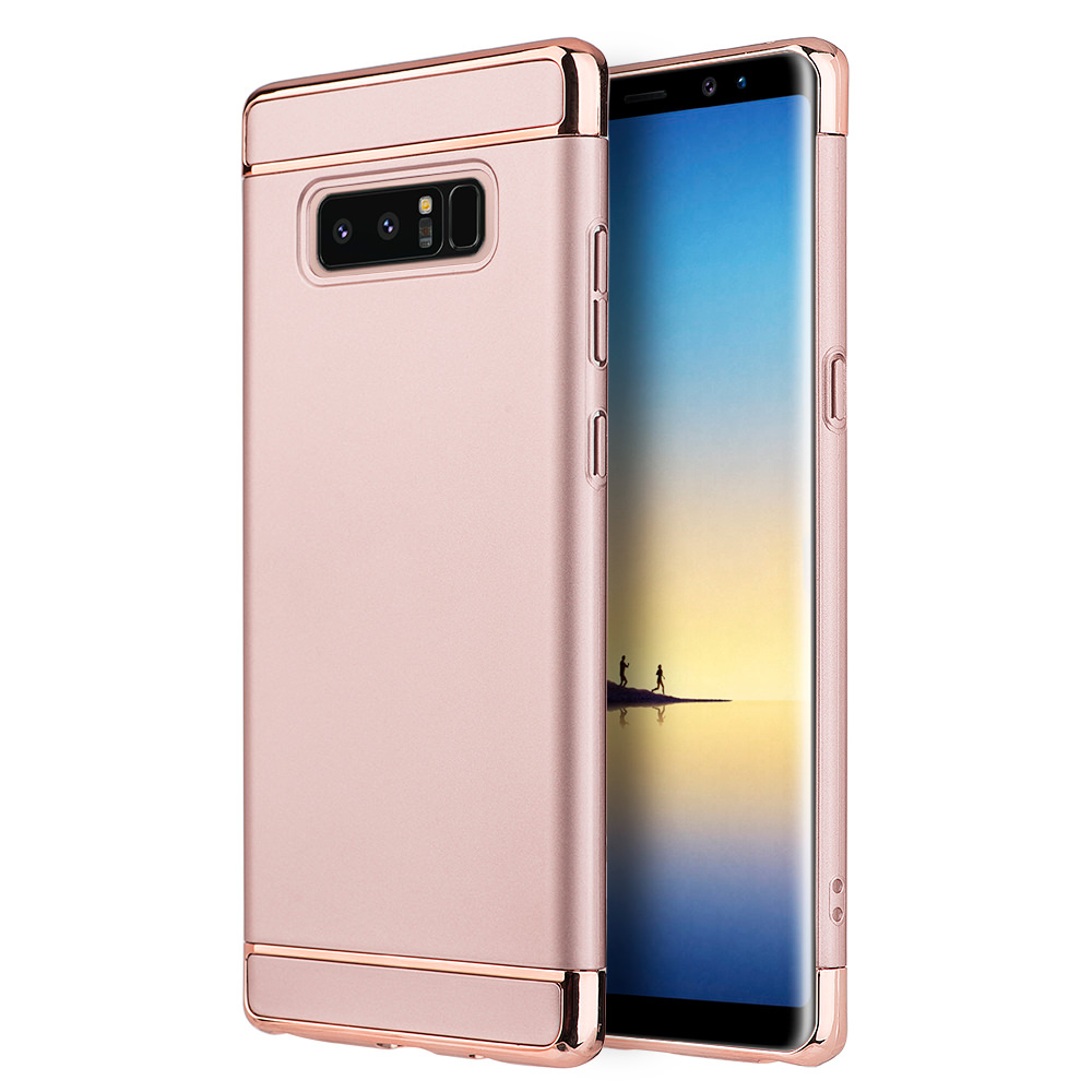 MUNDAZE Rose Gold Luxury Sleek Ultra Thin Case For Samsung Galaxy Note 8 Phone