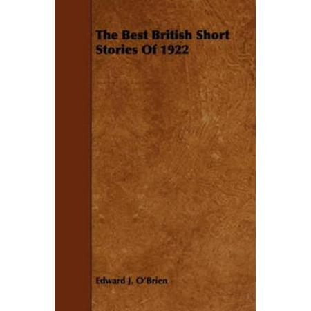 The Best British Short Stories Of 1922 - eBook