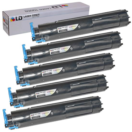 LD Compatible Canon 0386B003AA (GPR22) Set of 5 Black Laser Toner Cartridges for use in the following: Canon ImageRunner