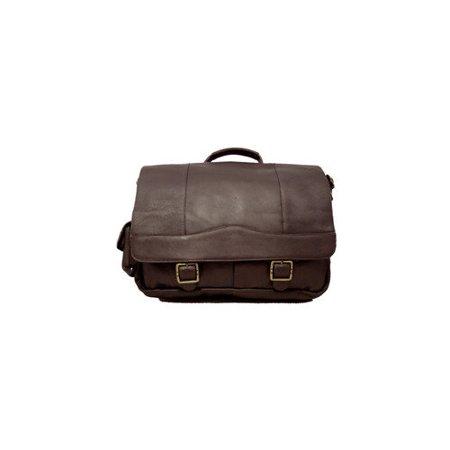 David King Classic Porthole Briefcase