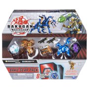 Bakugan Baku-Gear 4-Pack, Dragonoid Ultra with Baku-Gear and Howlkor Ultra, Collectible Action Figures