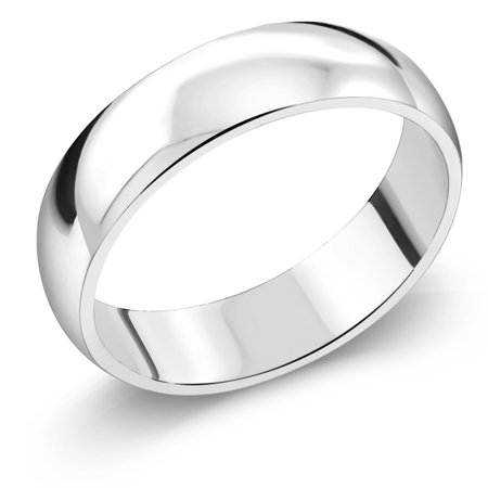 925 Sterling Silver Wedding Band Ring 5Mm Wide
