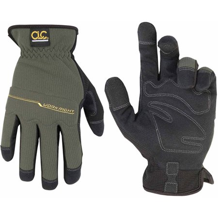 Custom Leathercraft Extra Large WorkRight OC Flexgrip Gloves