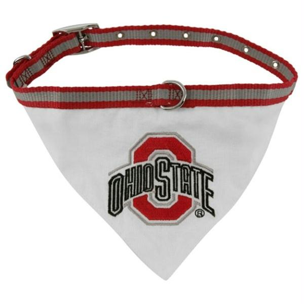 Ohio State Dog Collar Bandana