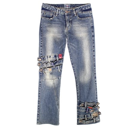 Womens Jeans Stoash 28x30 Buckle Straight Leg 28 ()
