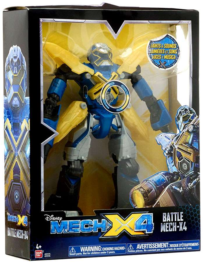 Bandai America Mech-X4 10 Inch Battle Robot by Bandai America