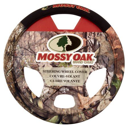 - Mossy Oak Break-Up Country Camo Steering Wheel Cover