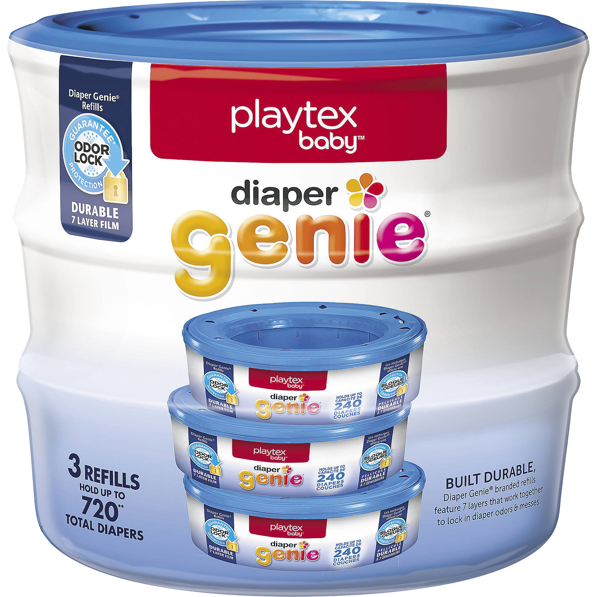 Playtex Diaper Genie Refills, 3-Pack