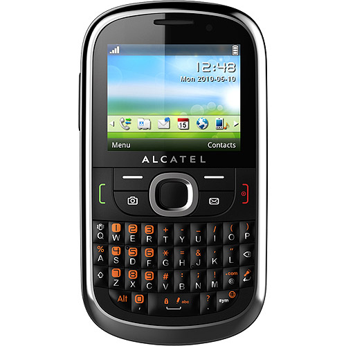 AT&T GoPhone Alcatel 871A Gray Prepaid Phone