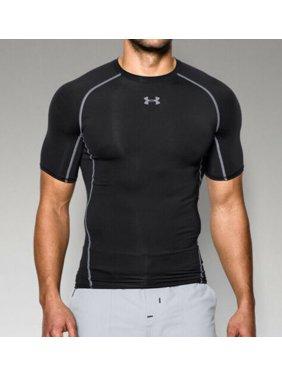 b2306a57 Product Image Under Armour Men's HeatGear Armour Short Sleeve Compression  Shirt 1257468-001 Black