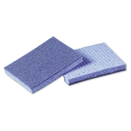 3M Soft Scour Scrub Sponge, 3 1/2 x 5 in, Blue, 40/Carton...
