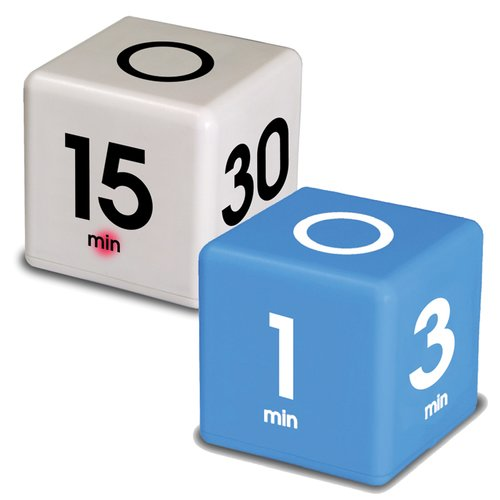 Cooking Time Cube Combo Pack: 5-15-30-60 minutes and 1-3-5-7 minutes
