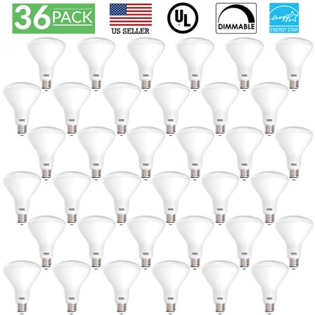 Sunco Lighting 36 Pack BR30 Dimmable Flood LED Light Bulb 11W 2700K, Soft White
