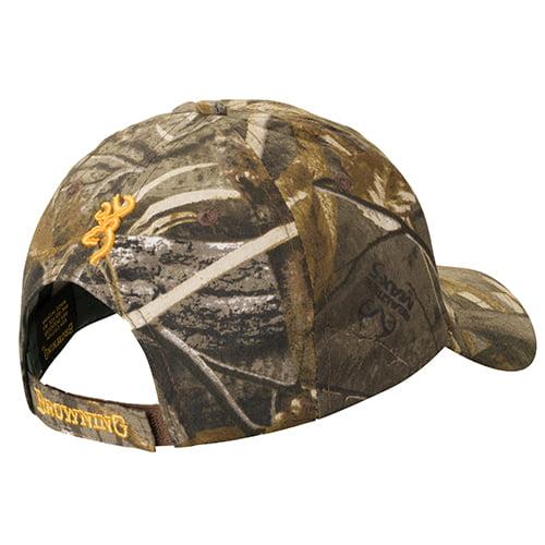 Browning Flex Fit Blaze Orange Cap with Black 3-D Buckmark CHOOSE YOUR SIZE