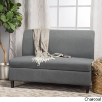Christopher Knight Home Tovah Fabric Storage Loveseat by  charcoal