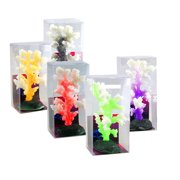 DZT1968® Aquarium Decoration Artificial Coral for fish Tank Resin Ornaments